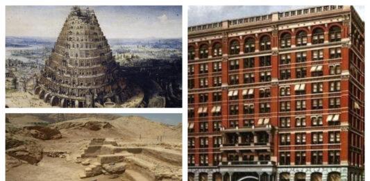 El primer rascacielos de la historia.