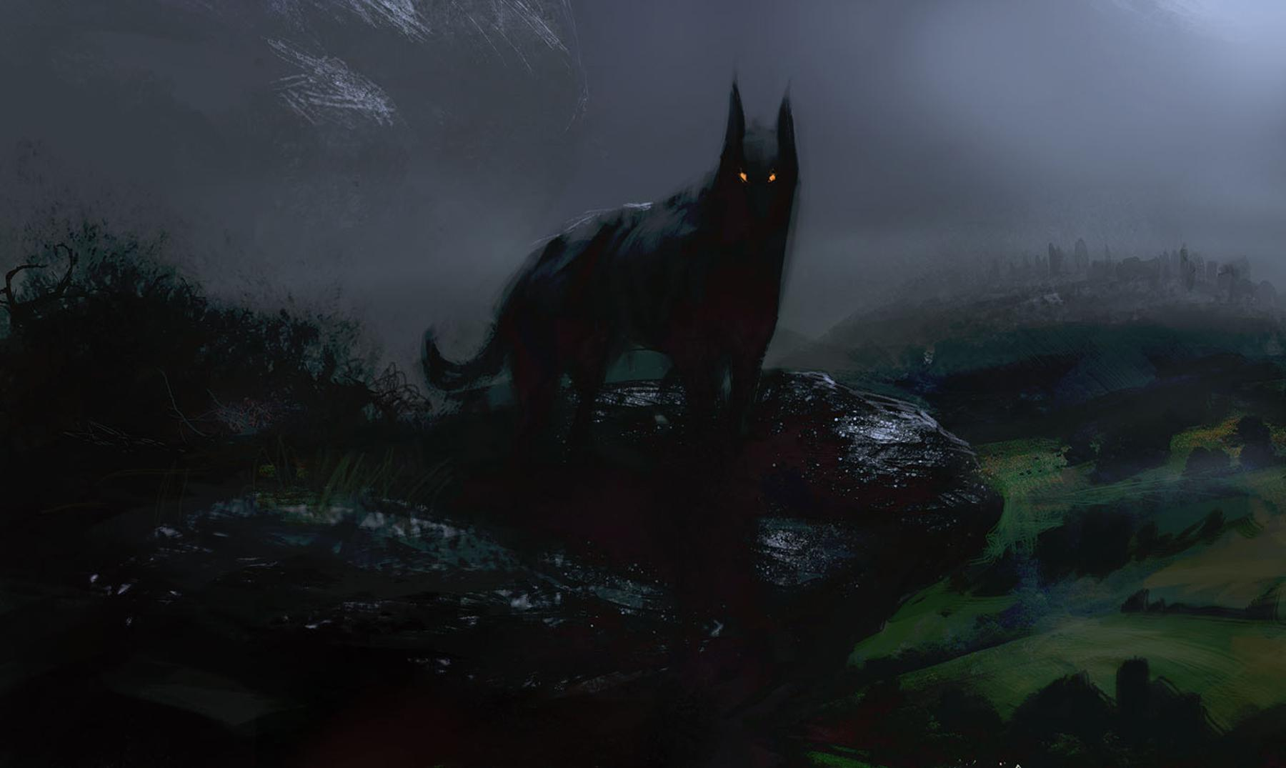 Las leyendas del perro negro del infierno