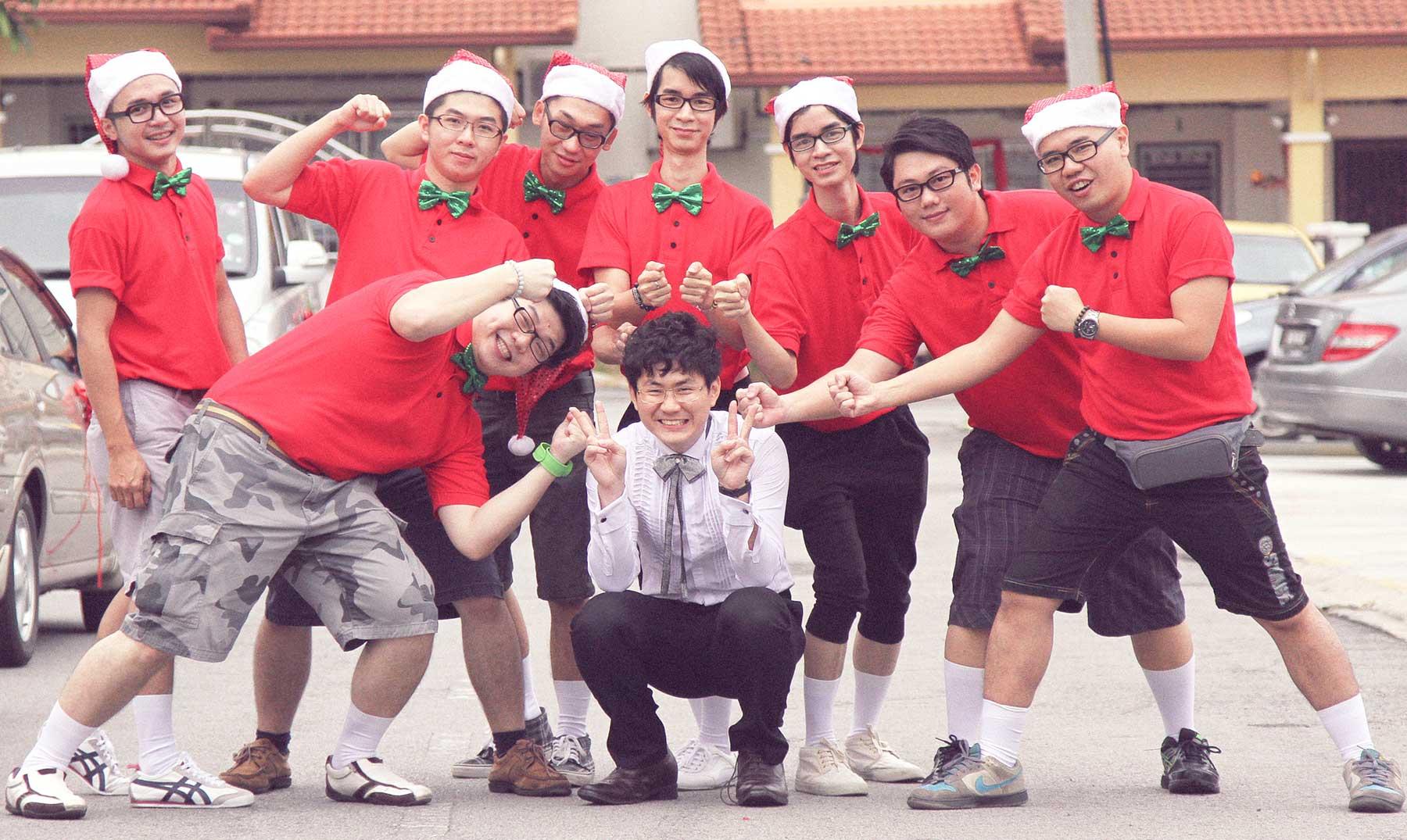 El mundo en Navidad: China