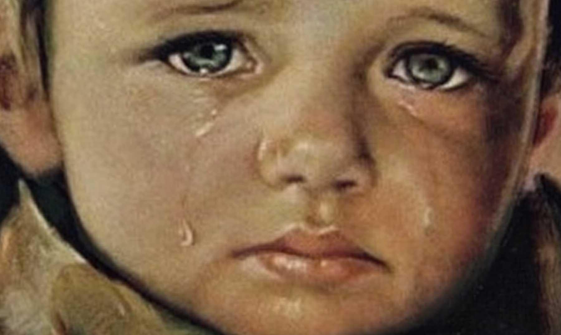 Niños que lloran: los cuadros malditos