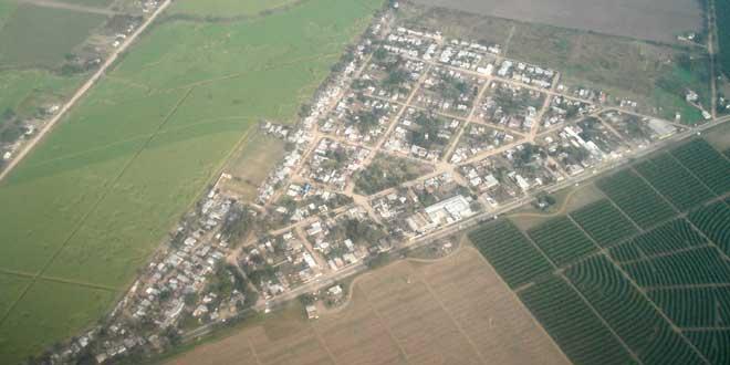 Vista aérea de Tucuman, El Chañar, Burruyacu, Argentina