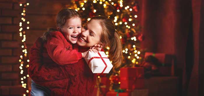 abrazo de navidad