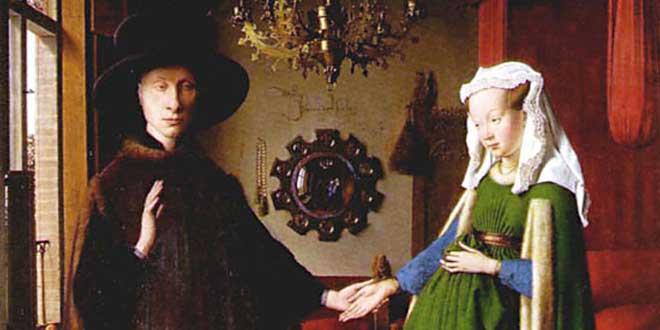 El matrimonio Arnolfini, Jan Van Eyck, 1434