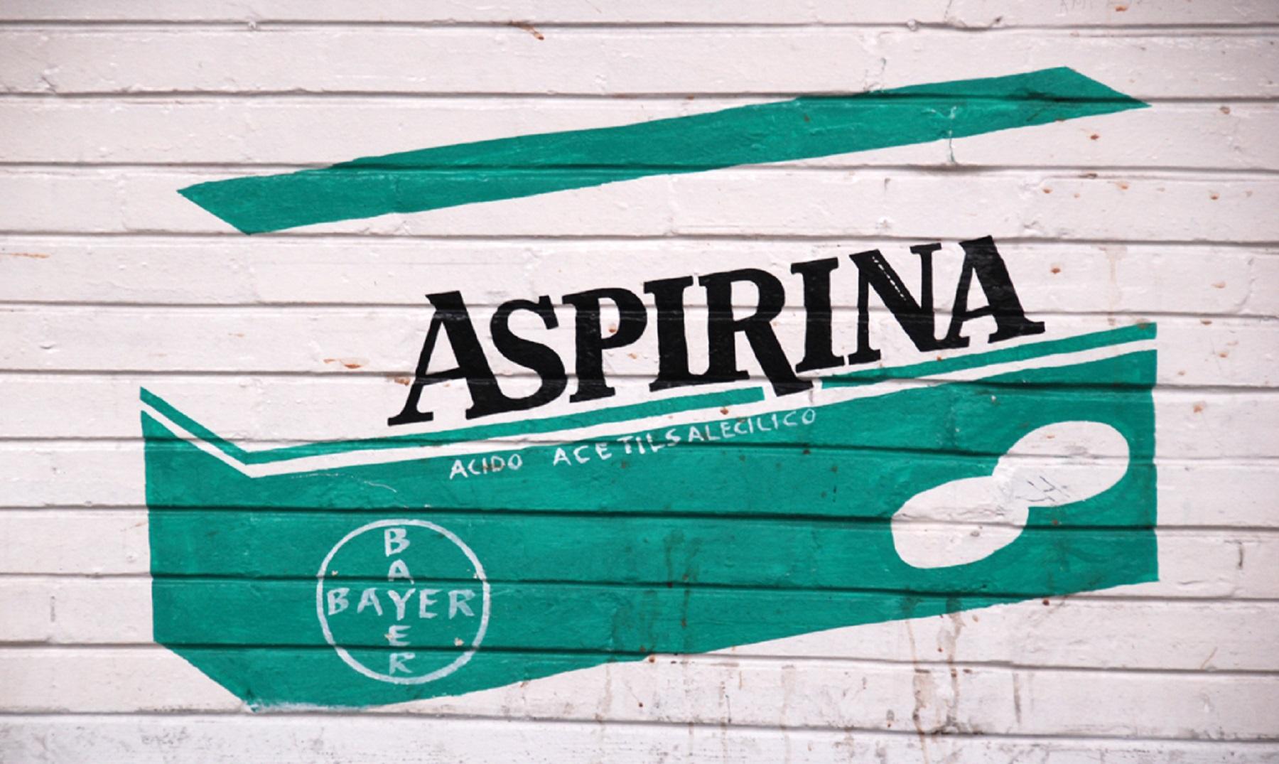 ¿Cuándo se inventó la aspirina?