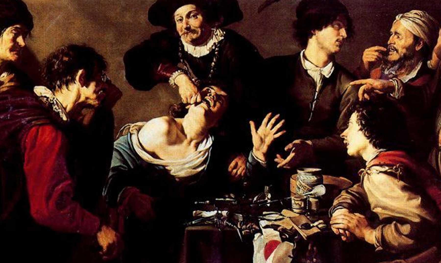 Barberos, cirujanos y sacamuelas