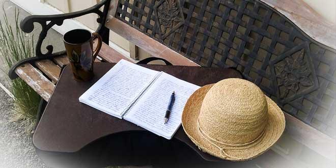 café y escribir