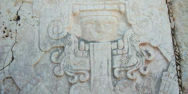 Grabado Chichen Itzá