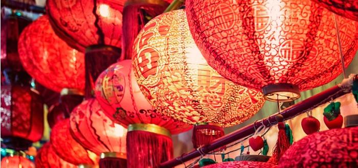 tradiciones navideñas en China