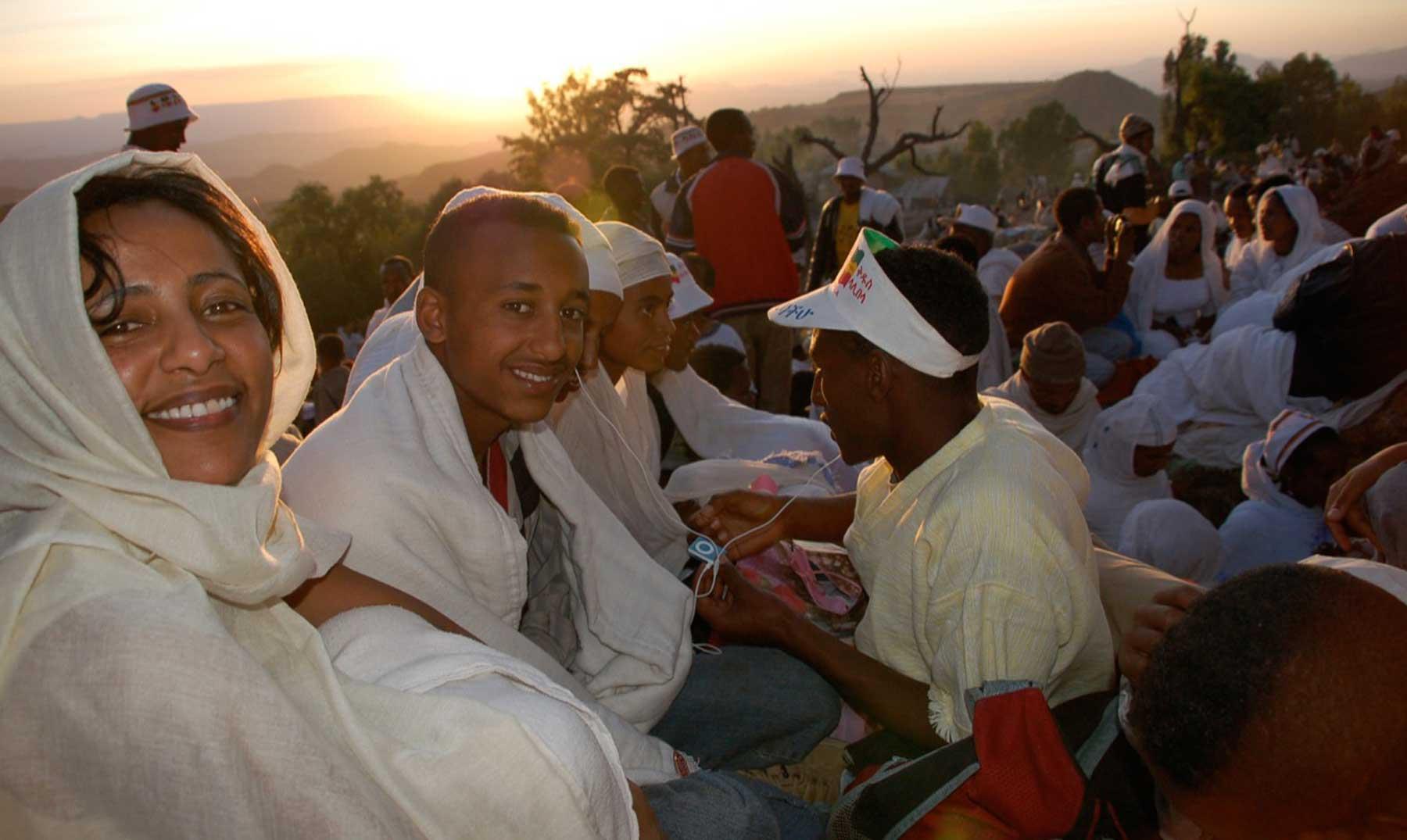 El mundo en navidad: Etiopía