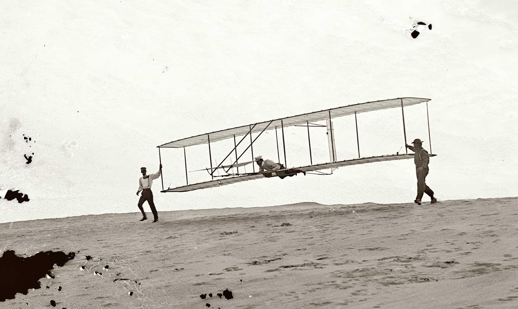 El vuelo que cambió el mundo