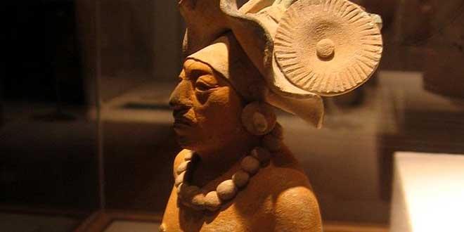 Figura de arcilla de Isla Jaina, 650-800 d.C.