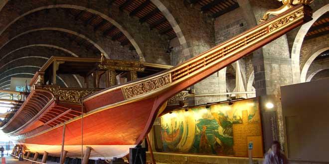 Galera del Museo Marítimo de Barcelona