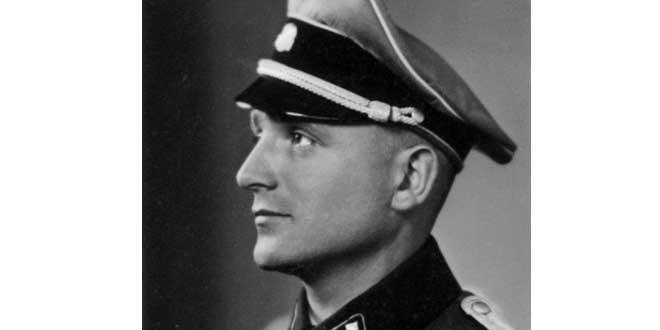 Retrato de Klaus Barbie (SS-Obersturmführer), 1941