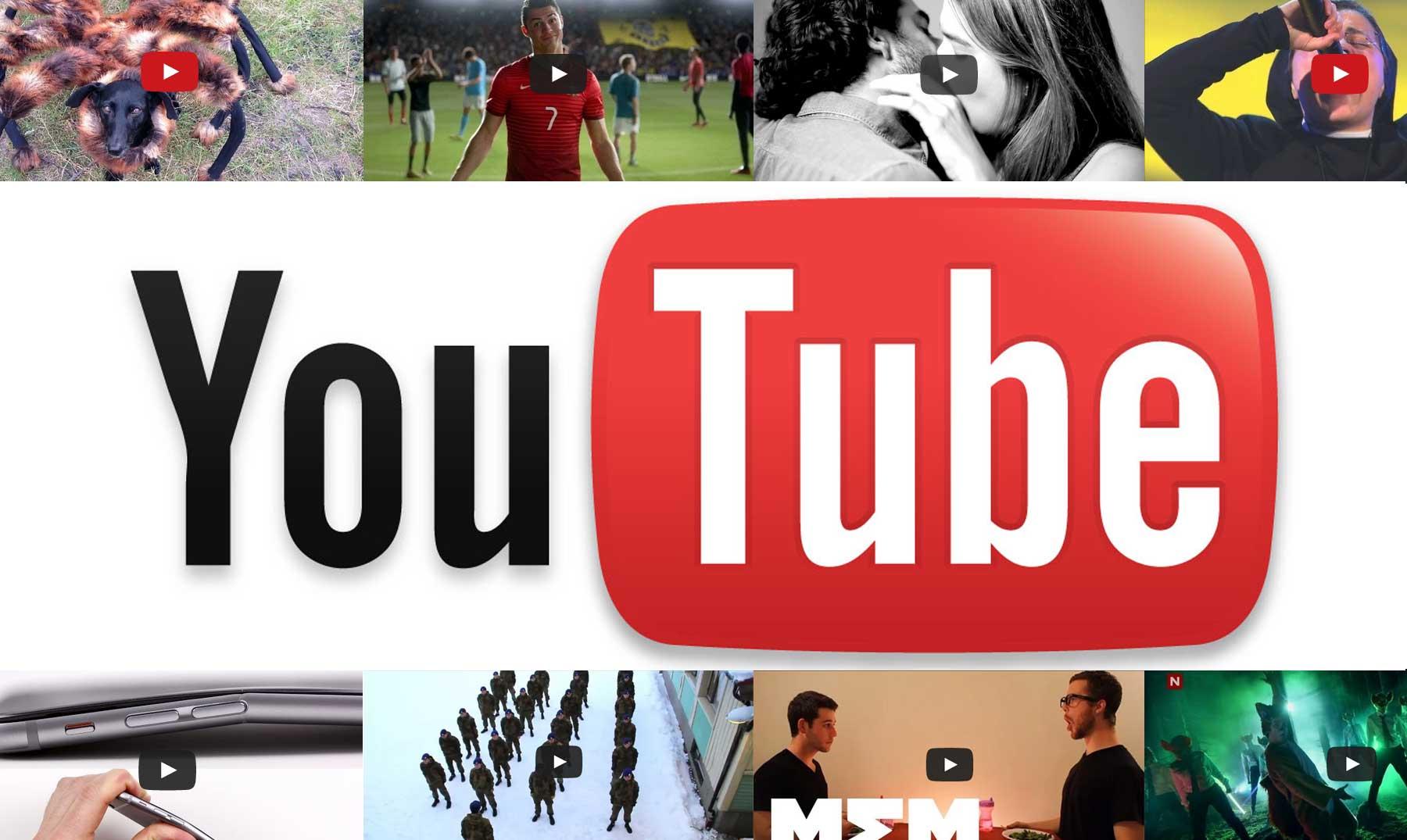 Los 5 vídeos más vistos en 2014 vs. los de 2013