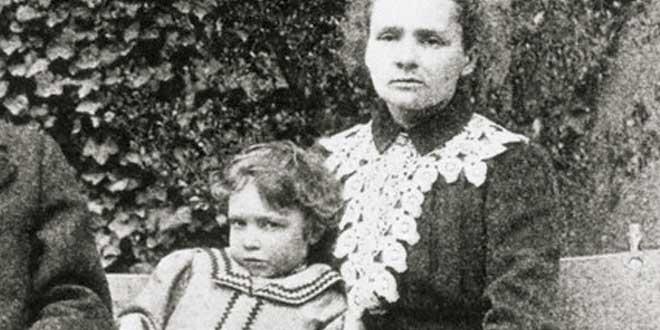 Iréne y Marie Curie