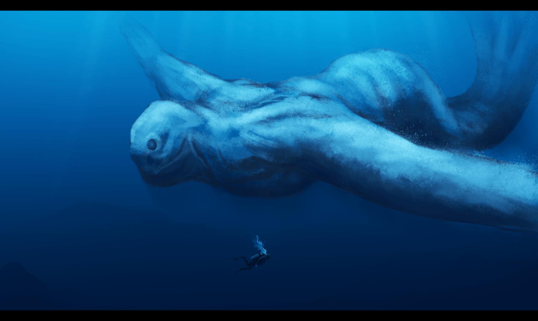Los Ningen, las extrañas criaturas del Ártico