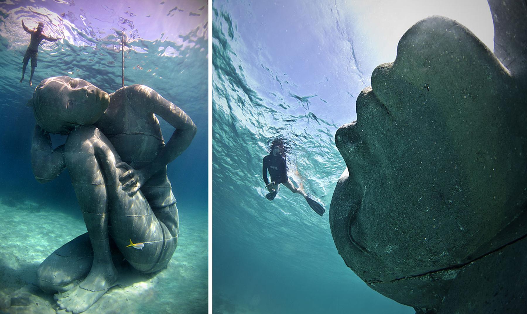 Subido a Atlas, la dama de piedra sumergida en las Bahamas