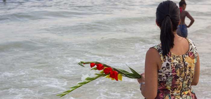 ofrenda de las flores