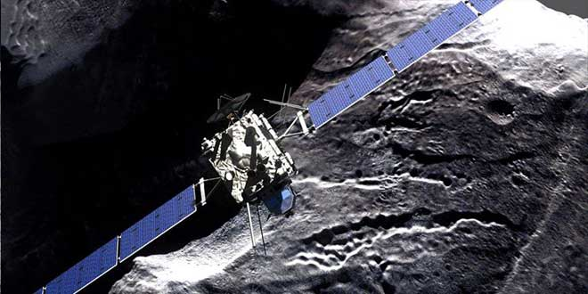 sonda espacial rossetta