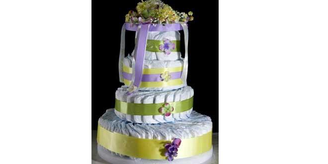 pañales pastel