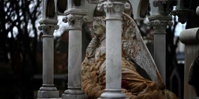 Tumba, Cementerio Père Lachaise, París, Francia