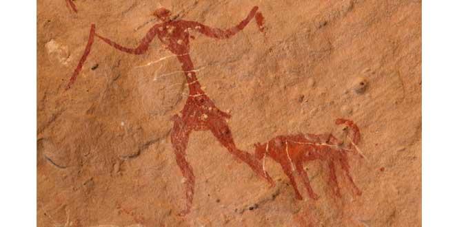 Pinturas prehistóricas en Jebel Acacus, Sahara Libio