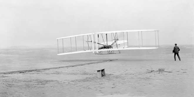 Hermanos Wright, primer vuelo (1903)