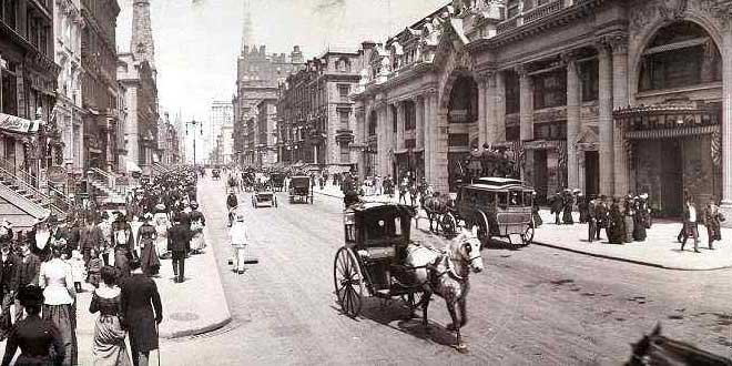 La Quinta Avenida, Nueva York, E.E.U.U. (1902)
