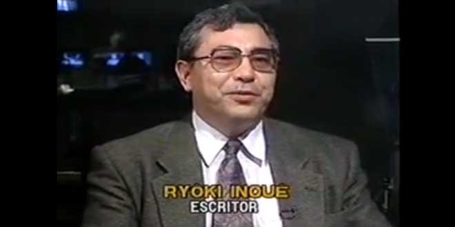 Captura de una entrevista de Ryoki Inoue para la televisión Brasileña