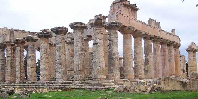 Templo de Zeus, Shahhat., Libia
