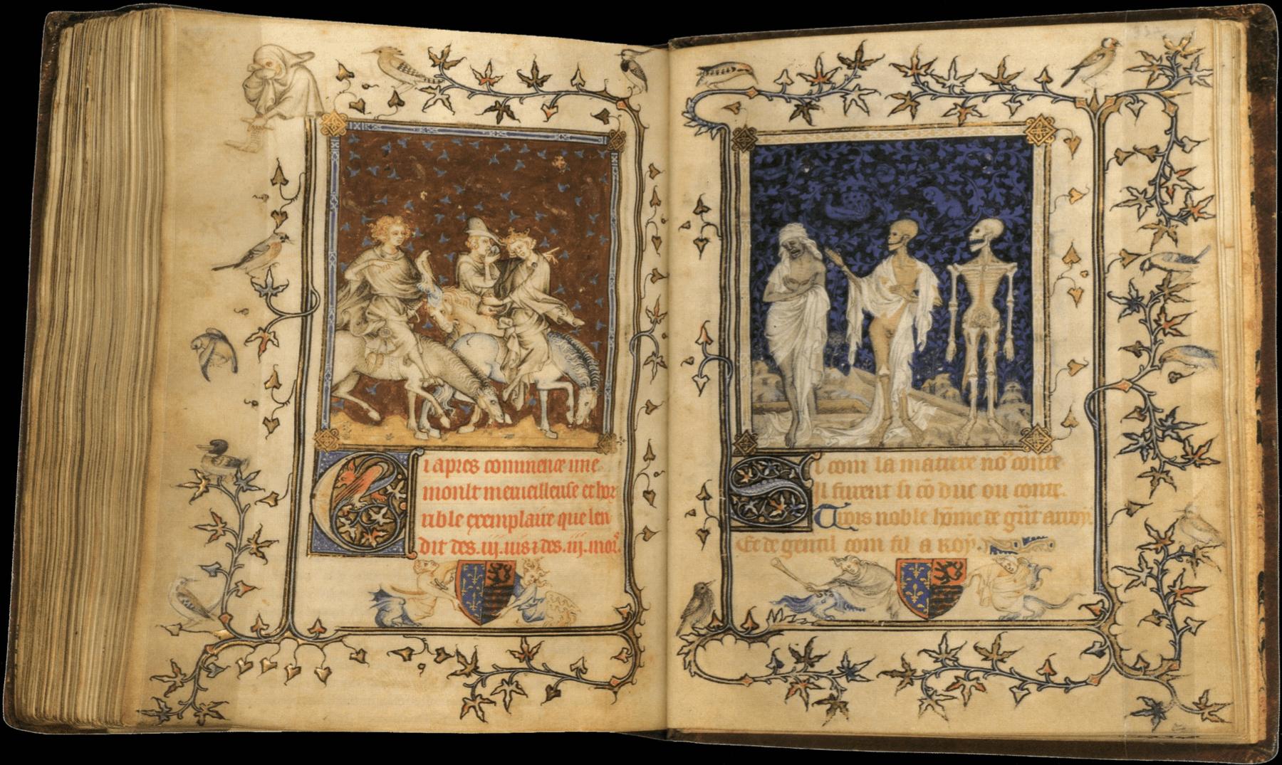 El enigma medieval de los tres muertos vivientes