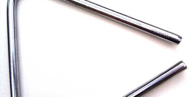 Triángulo instrumento musical