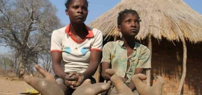 La tribu Vadoma.