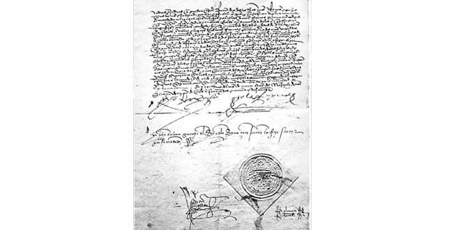 Edicto de la Alhambra, 1492