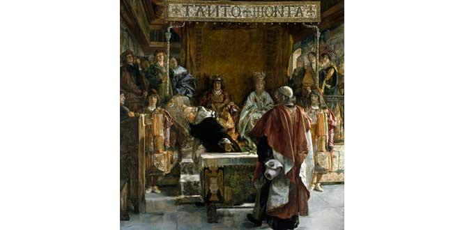 Expulsión de los judíos según Emilio Sala (1889)