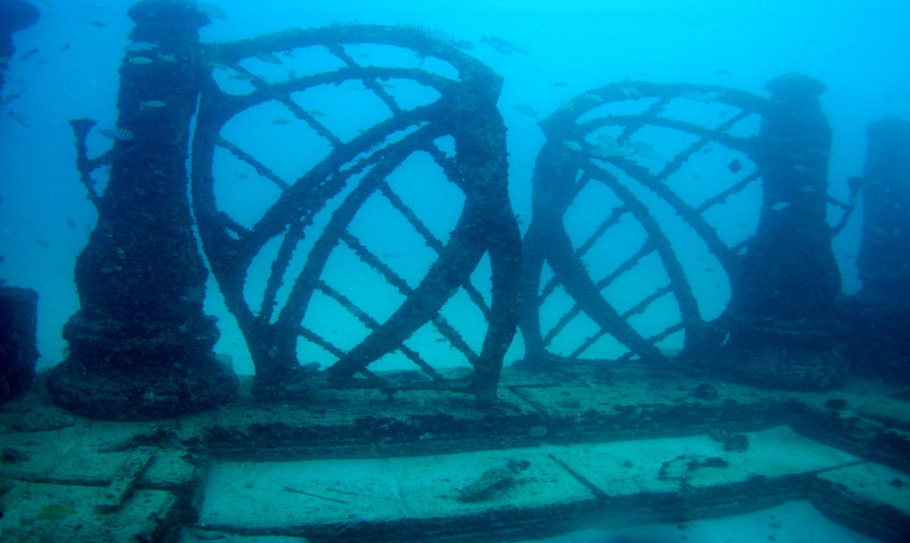 El cementerio más curioso del mundo: Neptune Memorial Reef