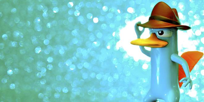 """Perry, el ornitorrinco, el agente secreto de """"Phineas y Pherb"""""""
