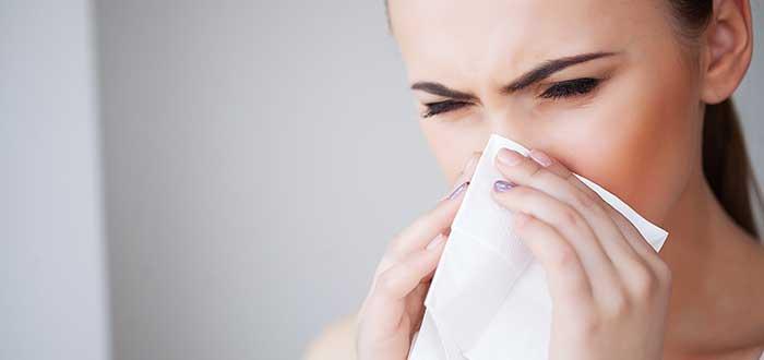 Por qué sangra la nariz. 1