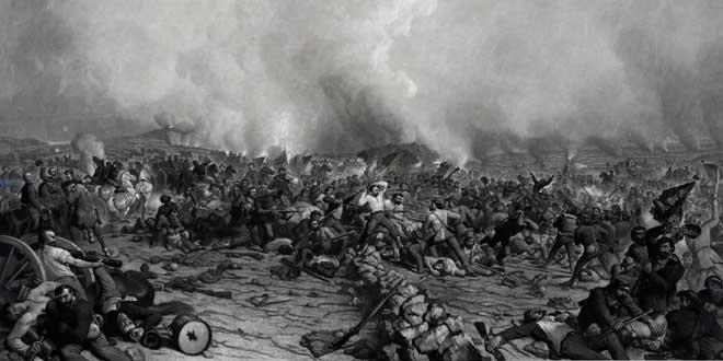 Ilustración Batalla de Gettysburg