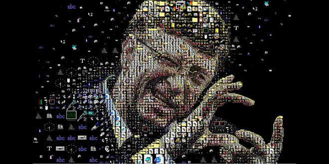 Mosaico de Bill Gates, grafeno