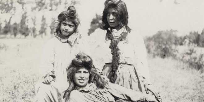 chicas gitanas foto antigua