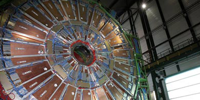 Colisionador en el CERN