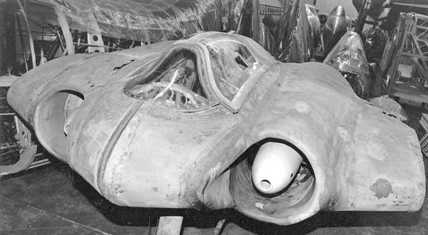 Horten Ho 229 V3 en el National Air and Space Museum en la instalación Paul E. Garber
