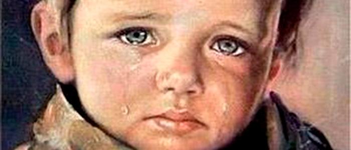 los niños llorando de bruno amadio