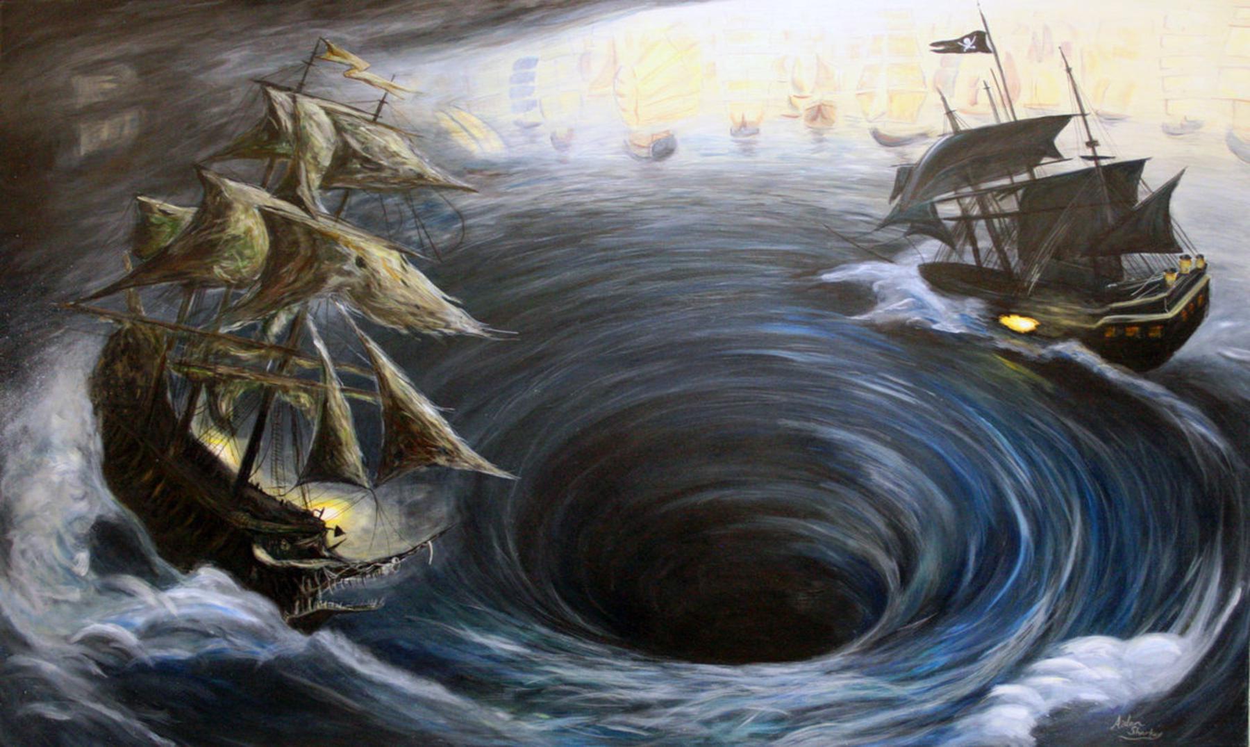 Maëlstrom, el poderoso torbellino marino