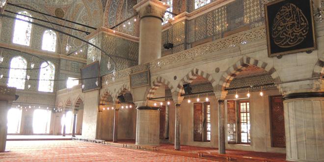 Mezquita principal en Estambul, Turquía