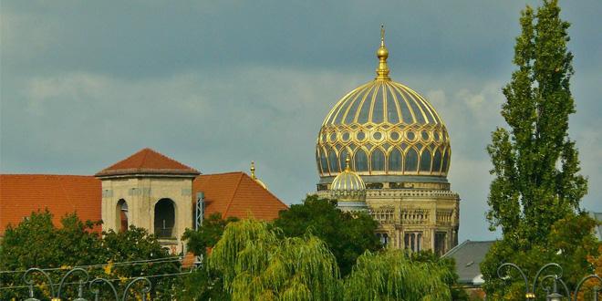 Sinagoga en Berlín, Alemania