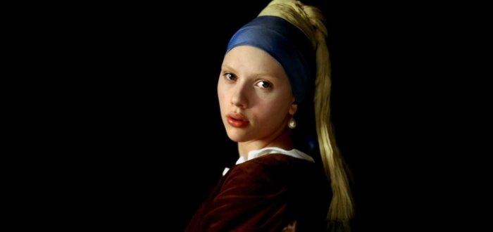 La joven de la perla, la chica de la perla.