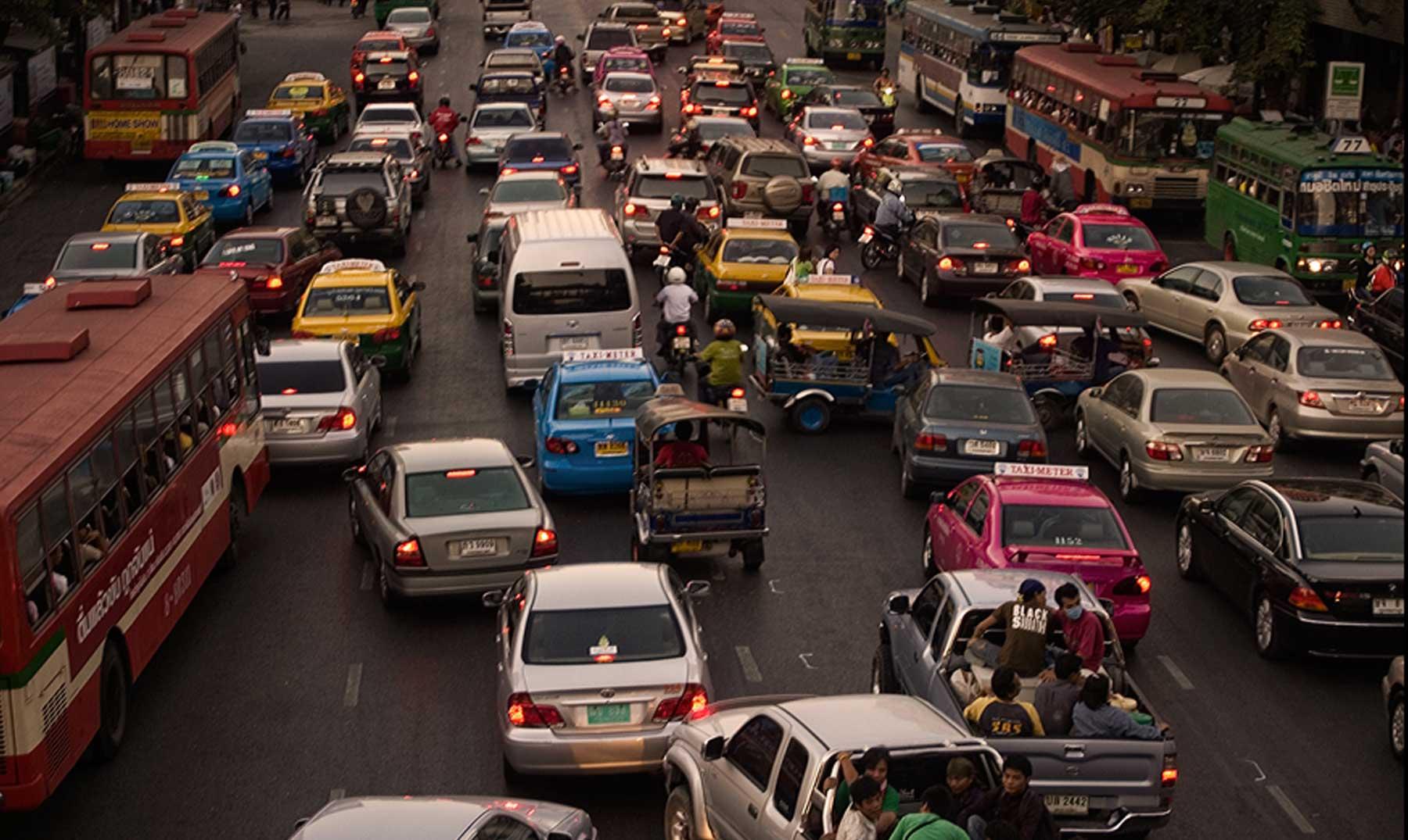 ¿Una ciudad con más automóviles que personas?