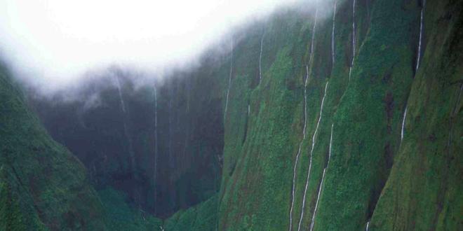 Mount Waialeale, the second highest point on the island of Kauai